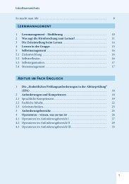Lernmanagement Abitur im Fach Englisch - Die Zeit