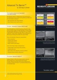 Data sheet Advanced Tin Barrier (ATB) - SCHEMPP & DECKER