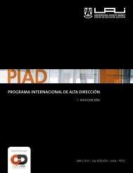 programa internacional de alta dirección - Universidad Adolfo Ibañez