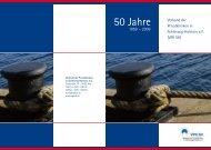 Festschrift (PDF) - Verband der Privatkliniken in Schleswig-Holstein eV