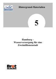 Hamburg – Wasserversorgung für eine ... - Wasser und Mehr