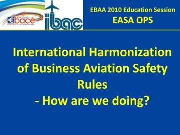 How are we doing? - eBace