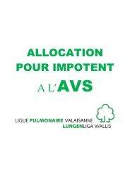 ALLOCATION POUR IMPOTENT A L'AVS - Ligue pulmonaire