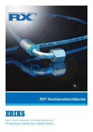 RX® Hydraulikschläuche - ERIKS