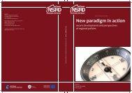 New paradigm in action - Ministerstwo Rozwoju Regionalnego