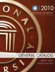 Catalog 73 - National University