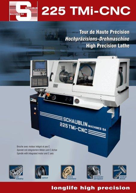 Catalogo Schaublin 225TMi-CNC - Vemas