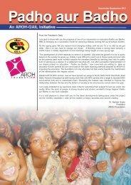 NL September 2011 2.pmd - Aroh Foundation