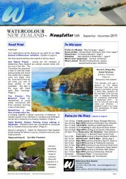 Focal Point In this issue Dates for the Diary - Watercolour New ...