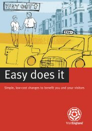 Easy does it - VisitEngland