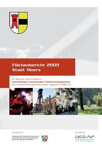 Flächenbericht der Stadt Moers - Meilenstein
