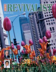 Download the March Issue - God's Bible School & College