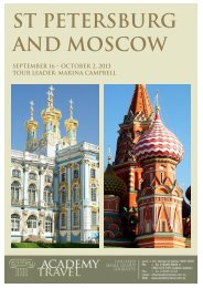 St Petersburg and Moscow - Academy Travel