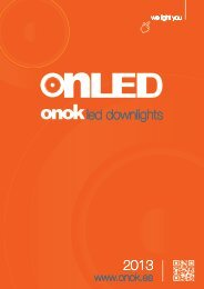 20/02/2013new downlights LED catalogue - Onok