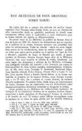 DOS ARTICULOS DE PAUL GROUSSAC SOBRE DARIO - Inicio