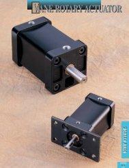 vane rotary actuator vane rotary actuator - Tolomatic