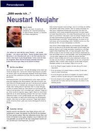 2008 werde ich... Neustart Neujahr - Dr. Kraus & Partner