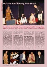 Mozarts Entführung in Dornach - Birseck Magazin