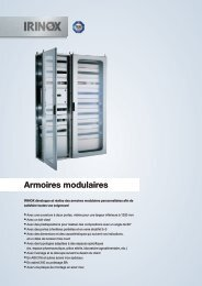 Armoires modulaires