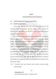 BAB IV HASIL PENELITIAN DAN BAHASAN 4.1 Profil Perusahaan ...