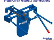 STEER PUSHER ASSEMBLY INSTRUCTIONS