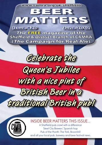 Celebrate the Queen's Jubilee with a nice pint of British Beer in a ...
