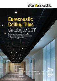Eurocoustic Ceiling Tiles Catalogue 2011 - Rigips