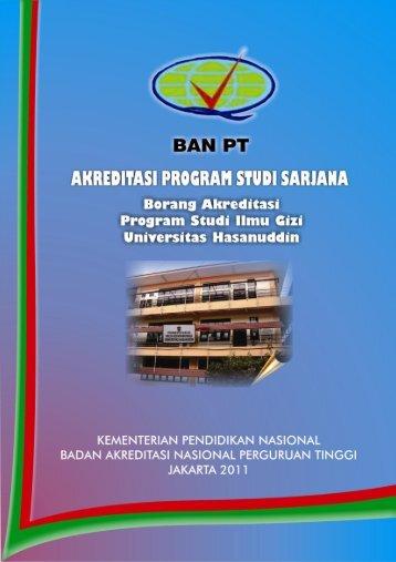 identitas program studi - Universitas Hasanuddin
