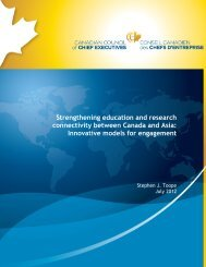 Strengthening education and research connectivity between ...