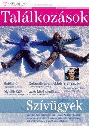 Találkozások magazin 2008. február - T-Mobile