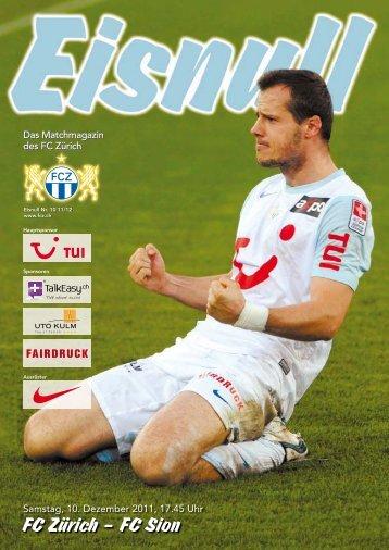 FC Zürich – FC Sion
