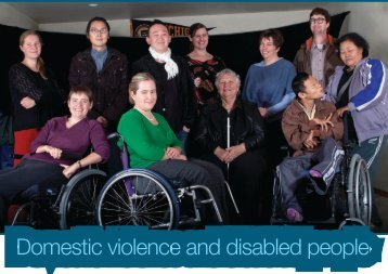 Domestic violence and disabled people - The Campaign for Action ...