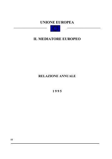 il mediatore europeo