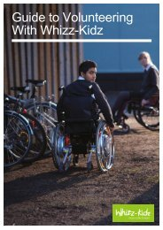 Guide to Volunteering With Whizz-Kidz