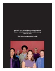 Families with Service Needs Advisory Board Final Report