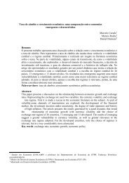 Taxa de câmbio e crescimento econômico - Revista Economia ...