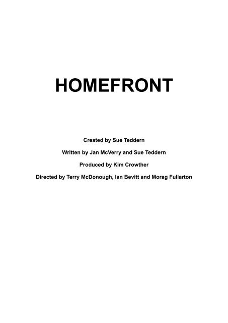 Homefront Production Notes FINAL - Life of Wylie