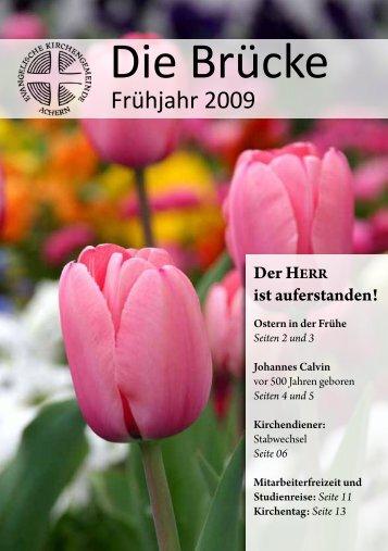 Gemeindebrief Fruehjahr 2009 (PDF, 604 K) - Evangelische ...
