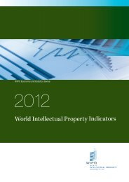 World Intellectual Property Indicators