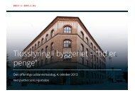 """Tidsstyring i byggeriet – """"tid er penge"""" - Bech-Bruun"""