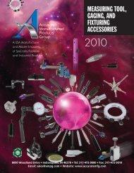 Accureate Mfg Catalog.pdf - JW Donchin CO.
