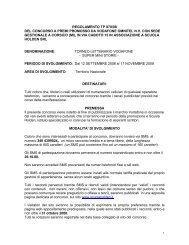 REGOLAMENTO TP 878/08 DEL CONCORSO A PREMI - Vodafone