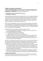 Grundlagen Pödagogische Diagnostik, Kretschmann - Lesen und ...