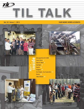 Vol 22 - Issue 1 - 2013 - til india