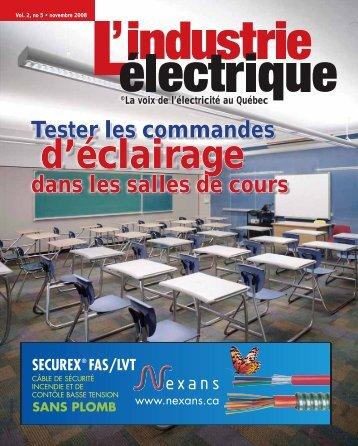 Tester les commandes dans les salles de cours - Electrical Business ...