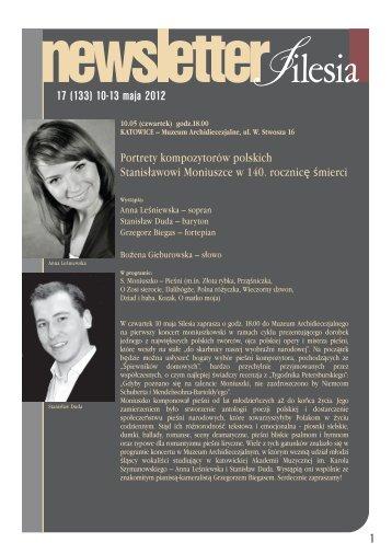 17 (133) 10-13 maja 2012 1 - Silesia