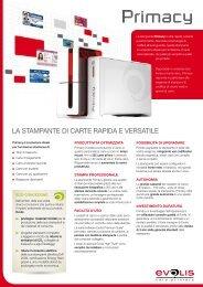 Download della brochure - Evolis