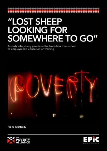 """LOST SHEEP LOOKING FOR SOMEWHERE TO GO"" - The Poverty ..."