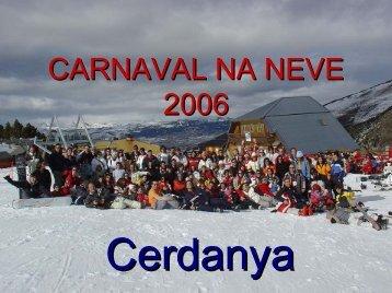 Programa Carnaval na Neve - Universidade do Minho