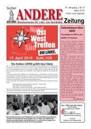04-2010 - DIE LINKE. Stadtverband Suhl